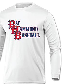 RHB Baseball White LS T's